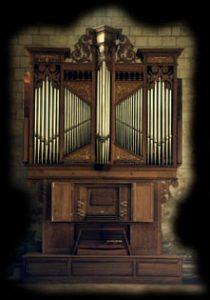 Buffet de l'orgue de St Jean à Corbeil-Essonnes