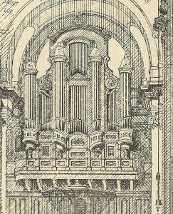 orgue-pentemont-1846-gravure d'époque